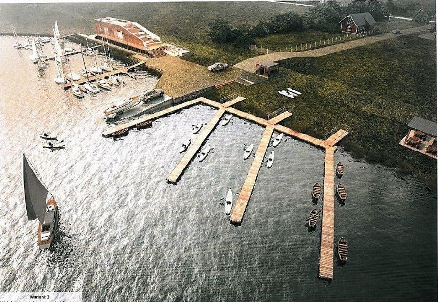 Rusza budowa przystani jachtowej w Łunowie