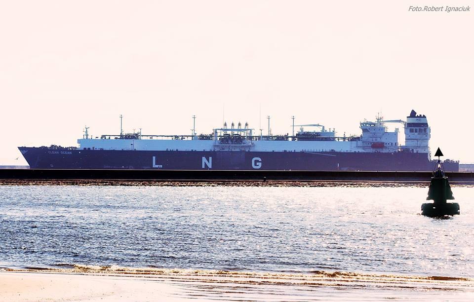 Pierwsza dostawa LNG od amerykańskiego dostawcy