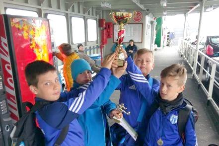 Udany występ najmłodszych piłkarzy Floty