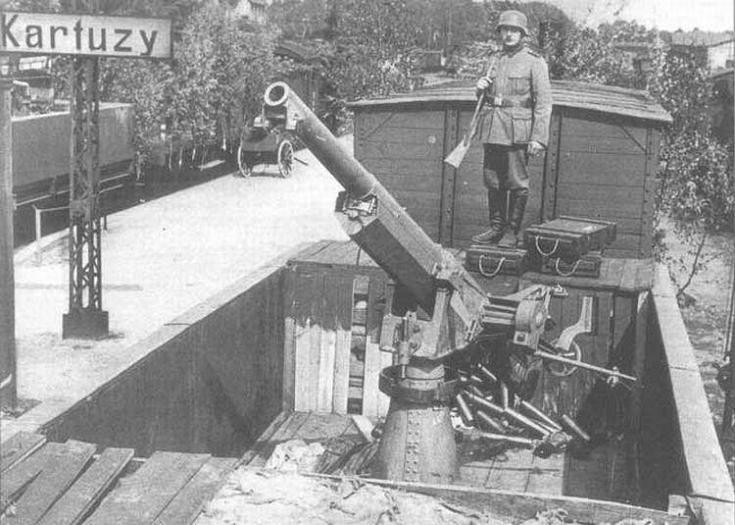 Z zatopionego promu wydobyto polską armatę