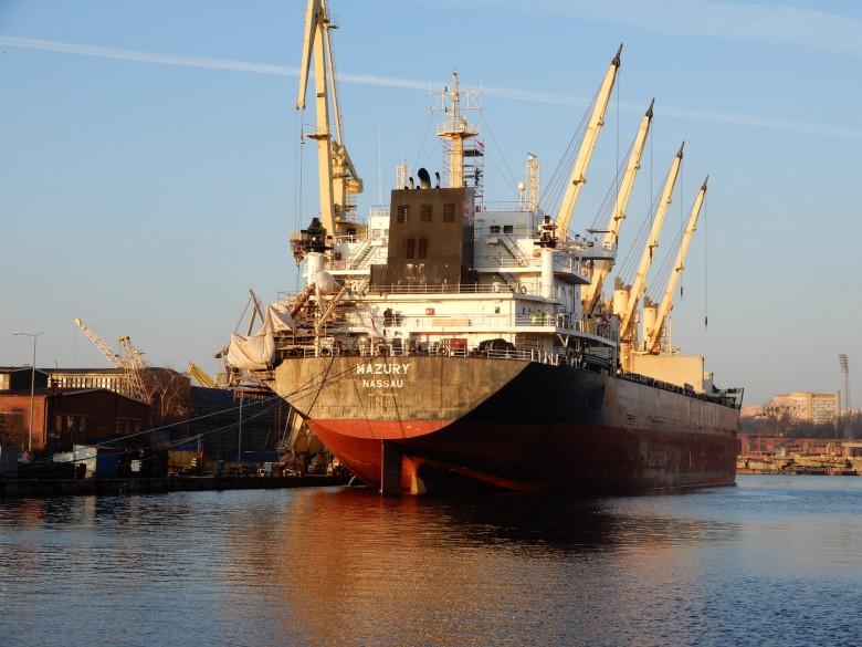 Kilometr statków w MSR Gryfia