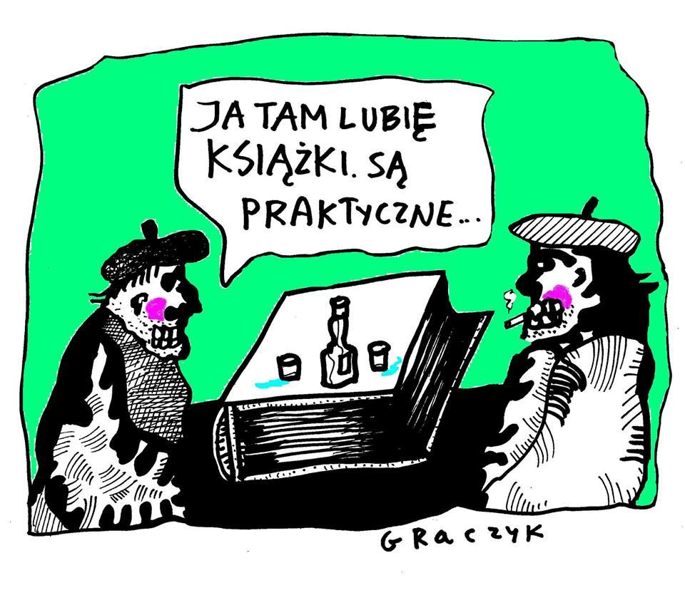 Michał Graczyk rysownik prasowy, ilustrator