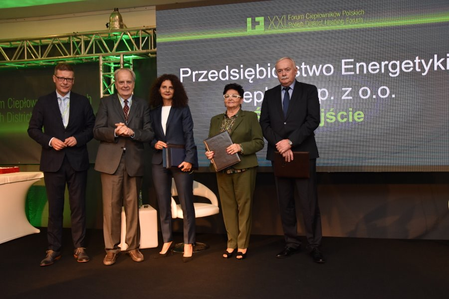 PEC Świnoujście najlepszą firmą ciepłowniczą w Polsce