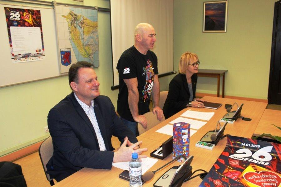 Harcerski Sztab 26 Finału WOŚP – konferencja w UM Świnoujście