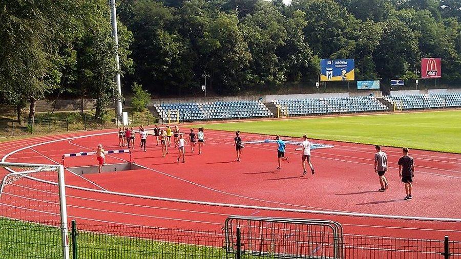 Lekkoatleci mają gdzie trenować. Stadion jest gotowy.
