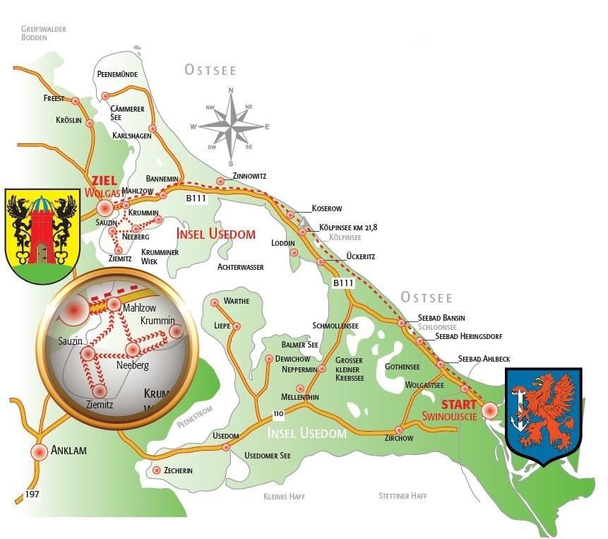 Komunikat dotyczący startu Maratonu Świnoujście – Wolgast