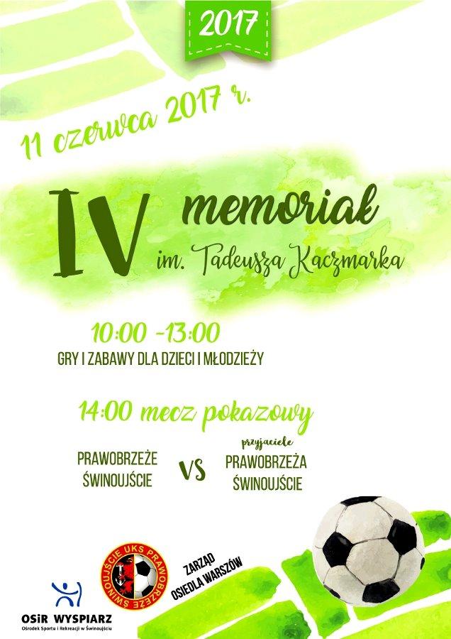 IV Memoriał im. Tadeusza Kaczmarka