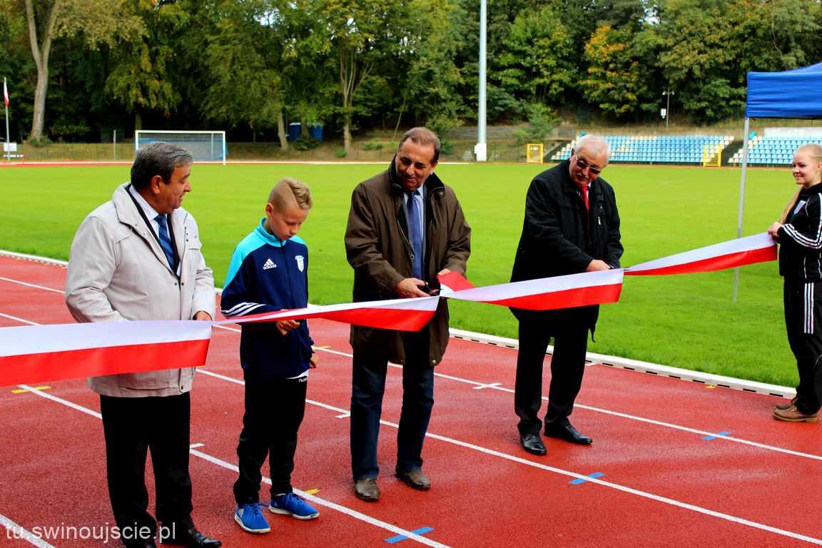 Dzisiaj w Świnoujściu otwarto lekkoatletyczną część stadionu