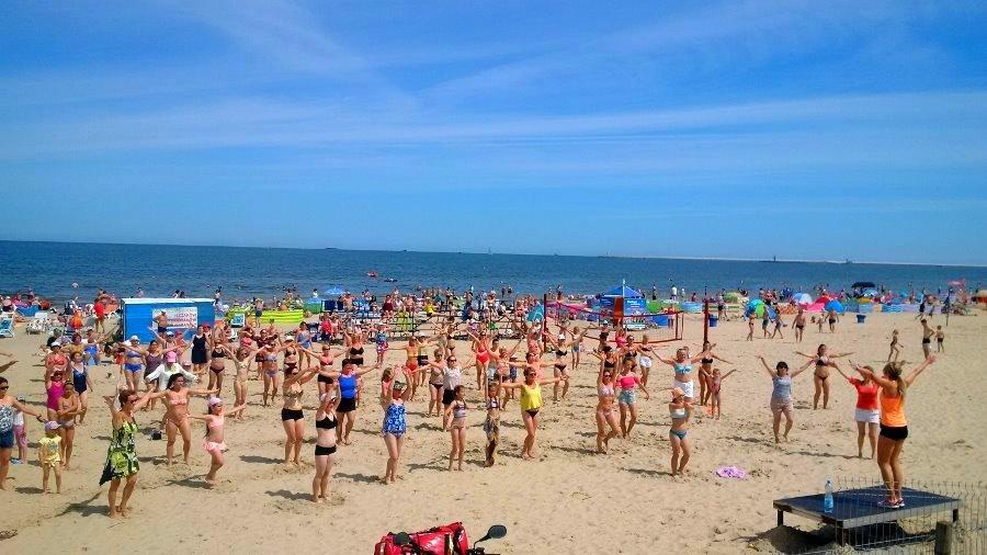 Zajęcia plażowe Ośrodka Sportu i Rekreacji