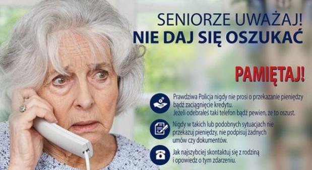 Seniorze nie daj się oszukać