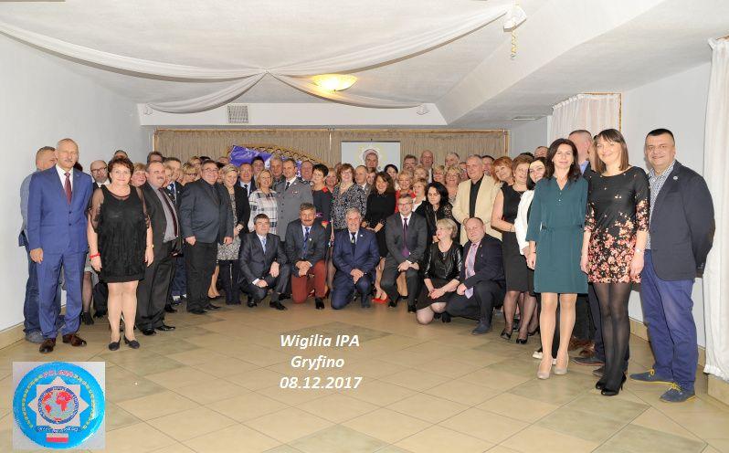 Spotkanie wigilijne zachodniopomorskiej IPA 2017 w Gryfinie