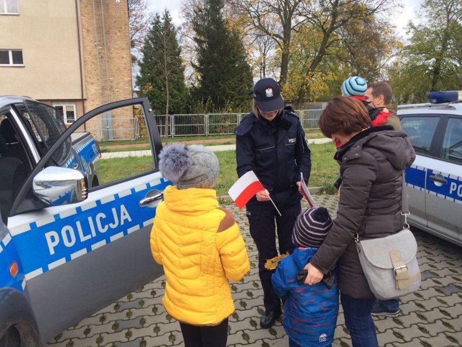 Święto Niepodległości z zachodniopomorskimi policjantami