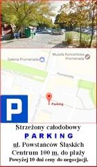 parking Świnoujście