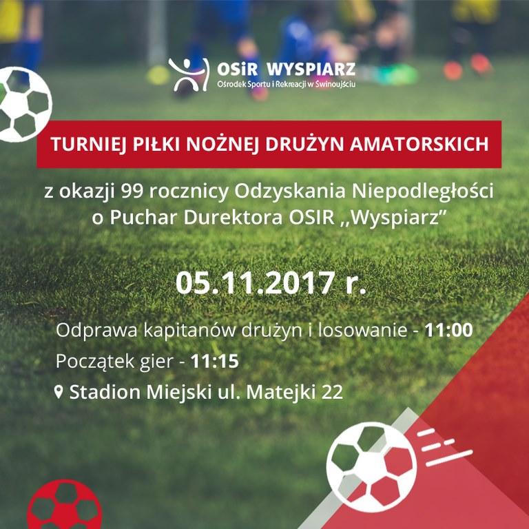 Turniej piłkarskich drużyn amatorskich