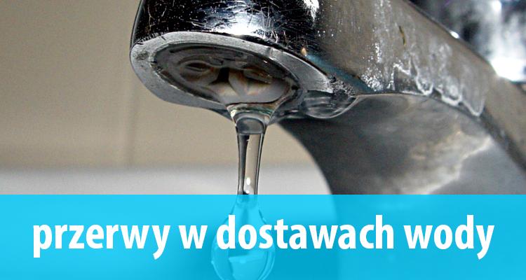 UWAGA przerwa w dostawie wody 8.12.2017 r.