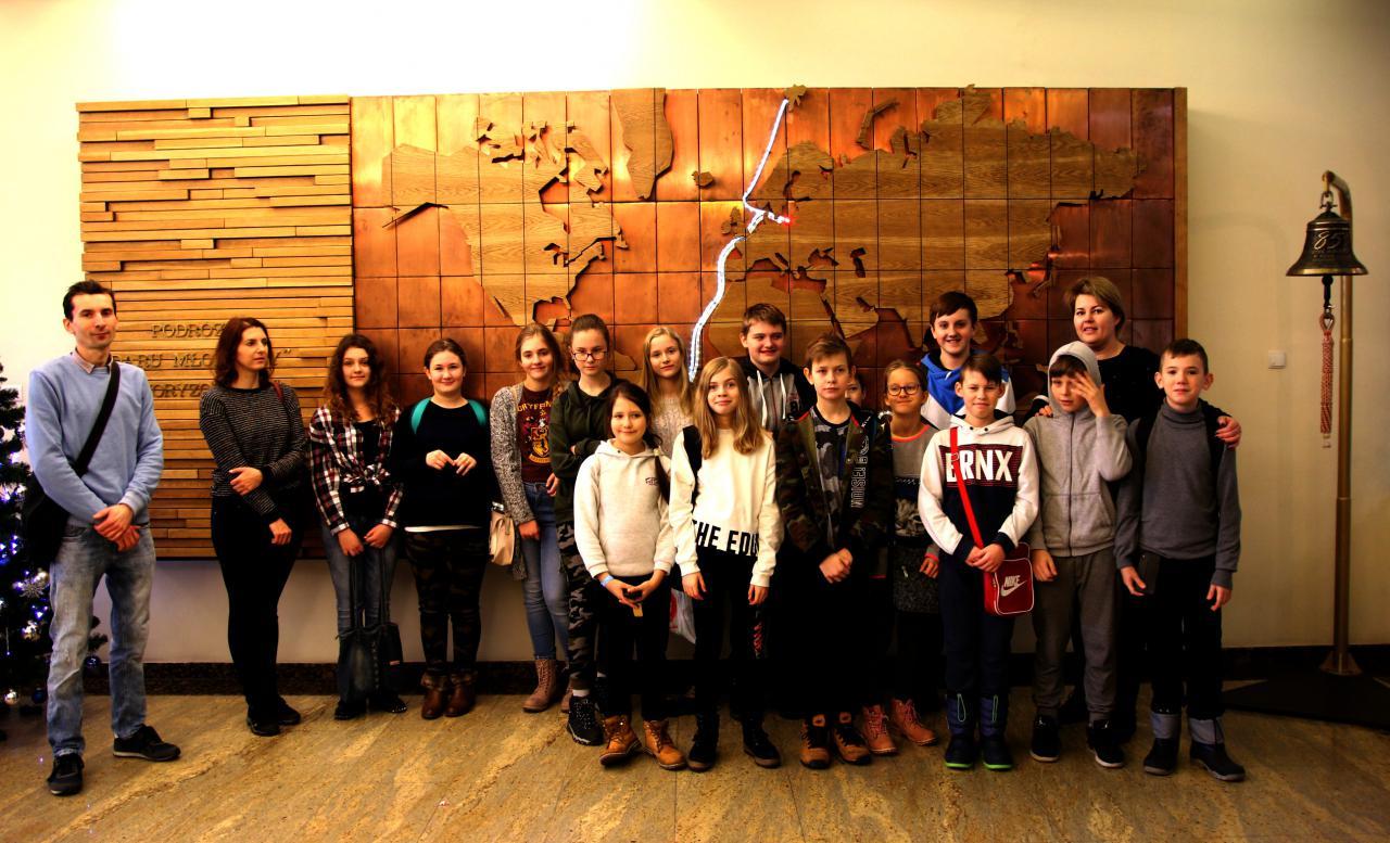 Wizyta uczniów w AMG