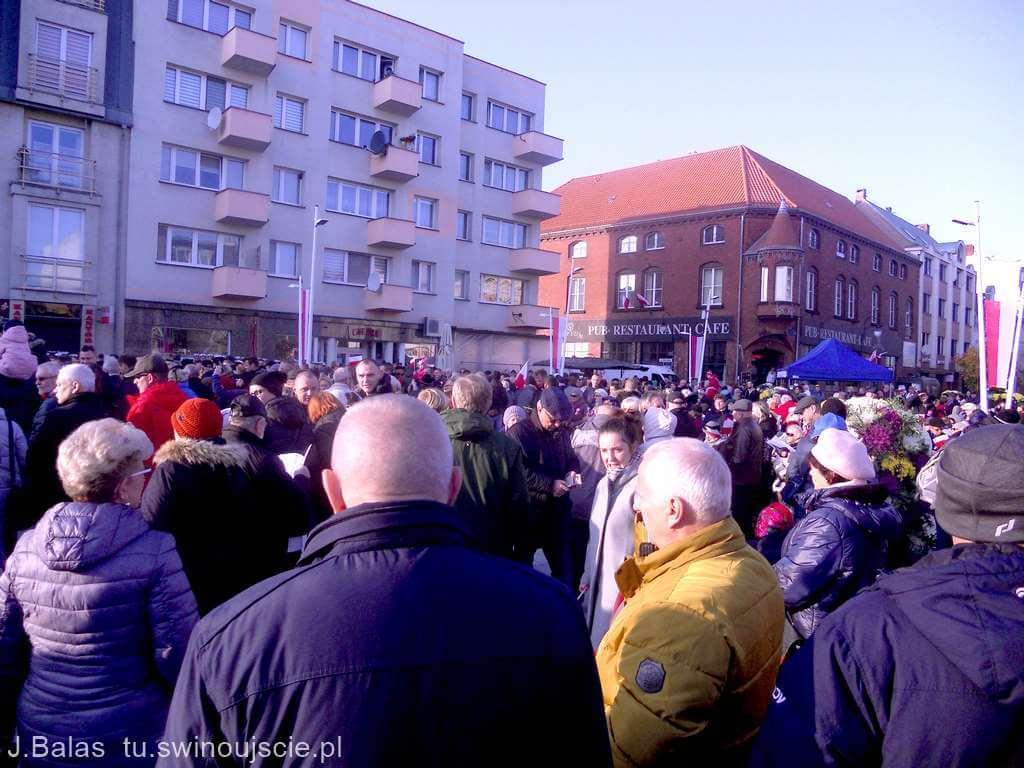 Świnoujście. Obchody Dnia Niepodległości - fotogaleria.
