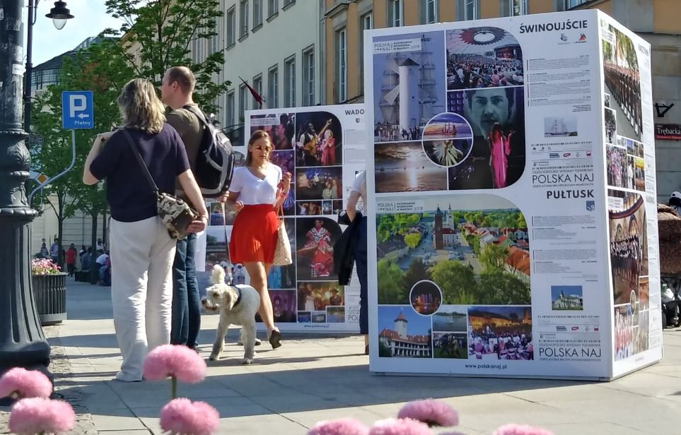 Zdjęcia ze Świnoujścia zagościły po raz kolejny w Warszawie