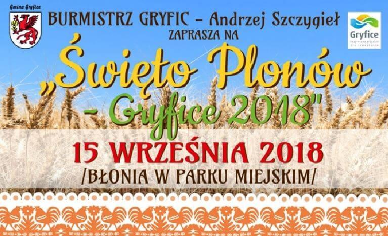 """BURMISTRZ GRYFIC – Andrzej Szczygieł zaprasza na """"Święto Plonów"""""""