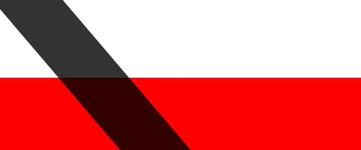 Świnoujście. W związku z żałobą narodową w Polsce
