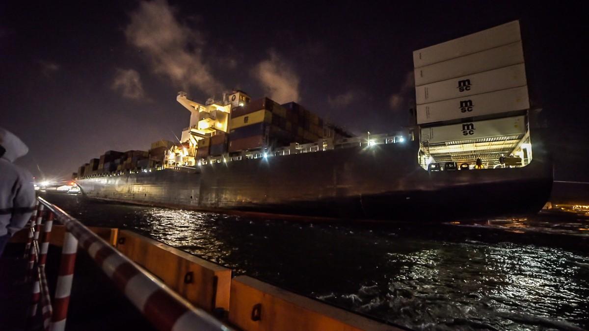 MSC Paris zawinął do Portu Gdynia (foto)