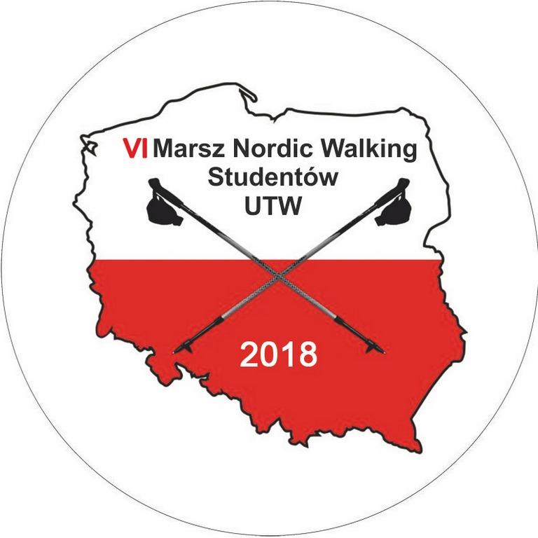 Świnoujście. VI Marsz Nordic Walking Studentów UTW