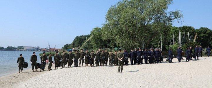 Świnoujście. Europejski Tydzień Zrównoważonego Rozwoju w 8.Flotylli Obrony Wybrzeża.