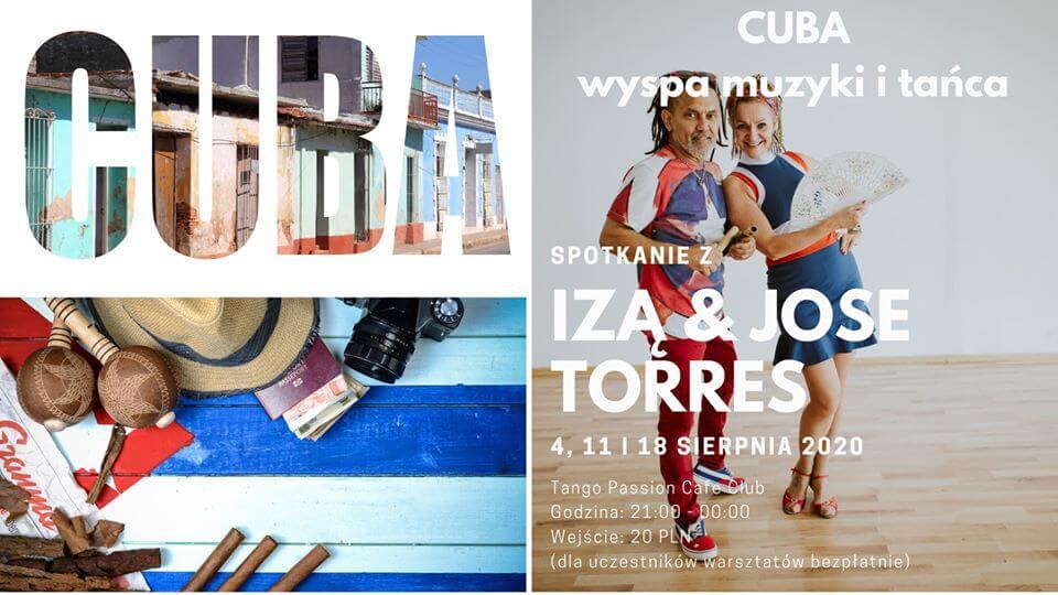 Świnoujście. Cuba - wyspa muzyki i tańca - Rumba, prowadzą Iza i Jose Torres