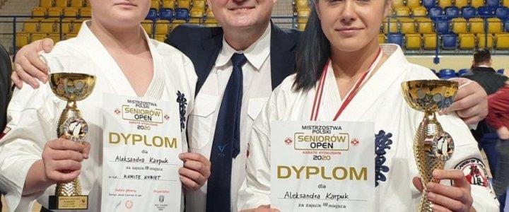 Świnoujście. Mistrzostwa w Katowicach. Podwójnie brązowa Aleksandra.