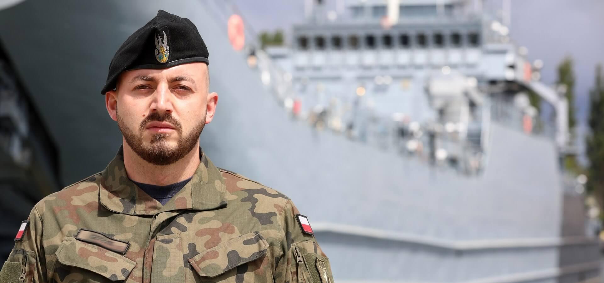 Świnoujście. Bohaterska postawa marynarza z 8. Flotylli Obrony Wybrzeża.