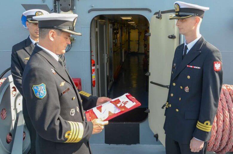Nowy dowódca zbiornikowca ORP Bałtyk