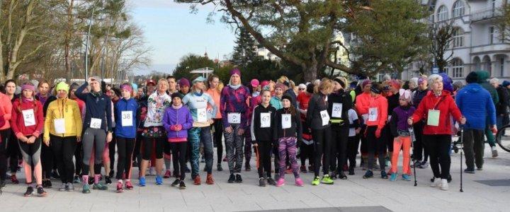 Święto Kobiet na sportowo - wyniki Babskiego Biegu.