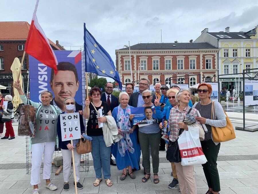 Świnoujście. 44 osoby utworzyły świnoujski Komitet Poparcia Rafała Trzaskowskiego.