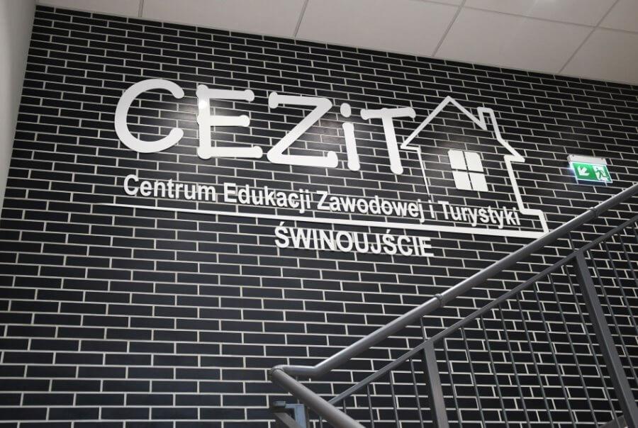 Świnoujście. Nowe pomieszczenia w Centrum Edukacji Zawodowej i Turystyki przy ul. Gdyńskiej.