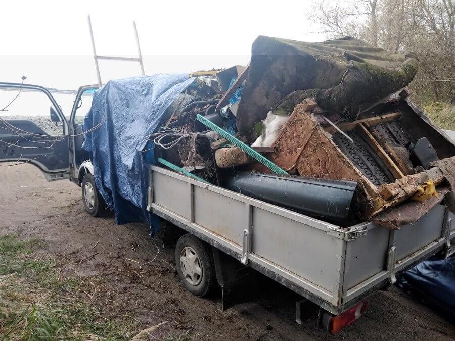 Świnoujście. Sprzątanie miasta po zimie. Wywieźli już 15 ton śmieci