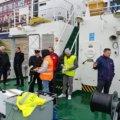 Akademia Morska w Szczecinie. Testy drona na uwięzi w ramach projektu SARA.