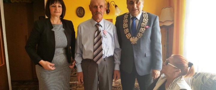 Prezydent odwiedził Jubilatów