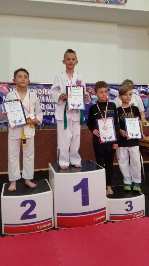 Świnoujście. Mistrzostwa Młodzików w taekwondo rozegranym w Bornym Sulinowie.
