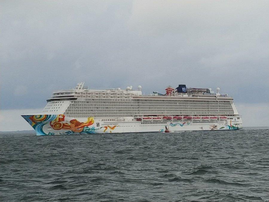 Norwegian Getaway w Porcie Gdynia. To najdłuższy wycieczkowiec w historii polskich portów (foto)