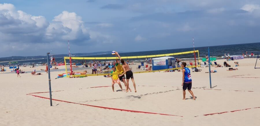 Świnoujście. Turnieje Siatkówki Plażowej z cyklu WAKACJE 2019