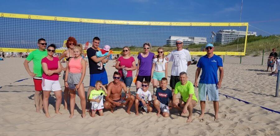 Świnoujście. Turnieje Siatkówki Plażowej z cyklu WAKACJE 2019, zwycięzcy turnieju piłki plażowej
