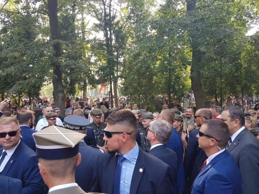 ZHR Świnoujście reprezentuje Świnoujście na obchodach 75. Rocznicy Powstania Warszawskiego.