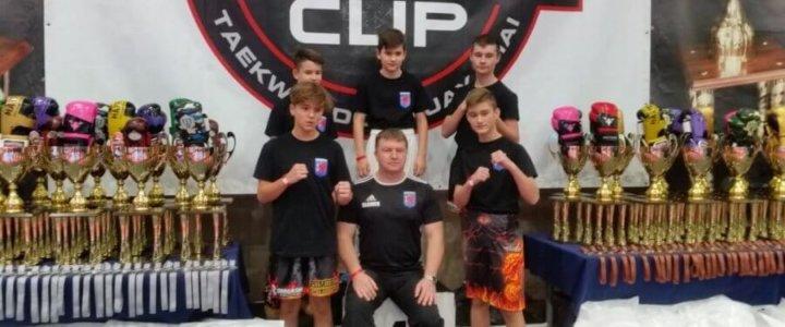 Świnoujście. Puchar Polski w taekwondo olimpijskim. Kickboxing - 8 Polish Fighter Cup.