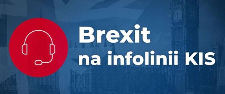 Brexit. Specjalne dyżury na infolinii Krajowej Izby Skarbowej.