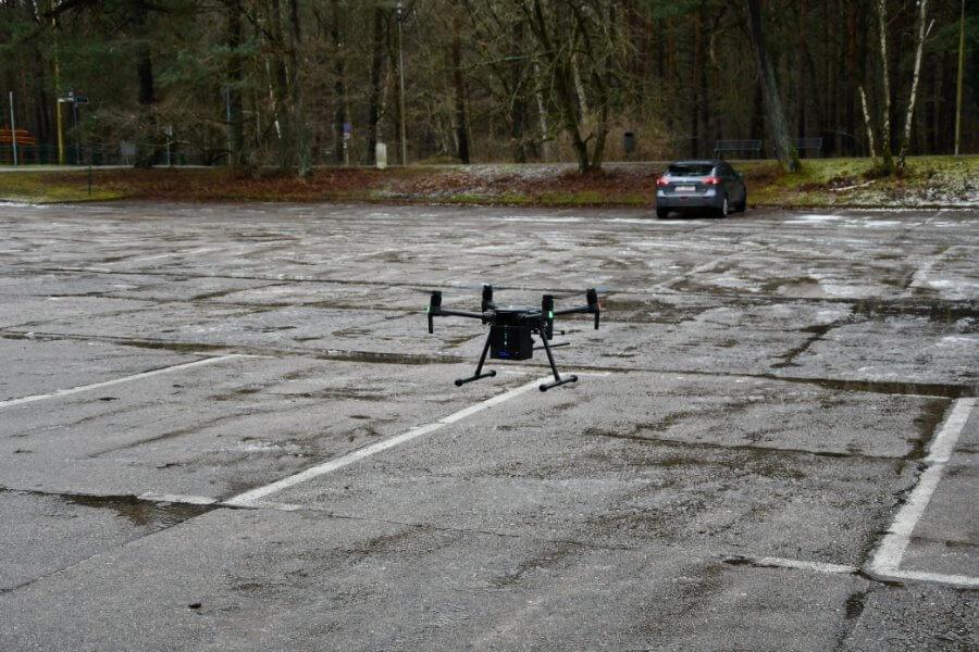 Dron zadba o bezpieczeństwo i czyste powietrze w Świnoujściu.