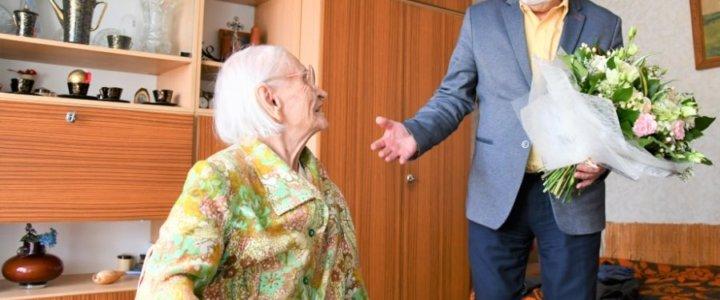 Świnoujście. Pani Jadwiga skończyła 100 lat! Gratulujemy.