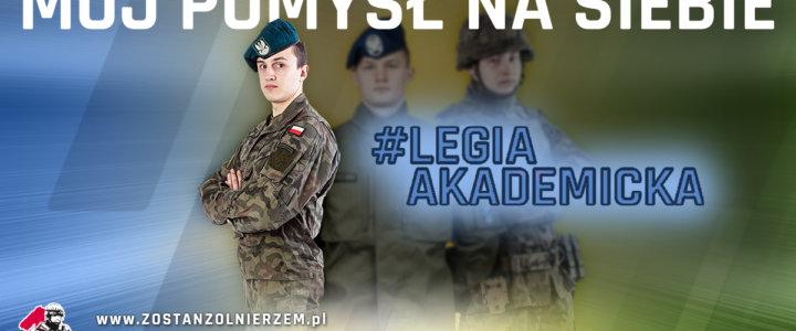 60 uczelni w całym kraju przystąpi do programu Legia Akademicka, który szkoli ochotniczo studentów chcących zostać żołnierzami Wojska Polskiego.
