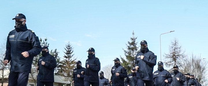 Funkcjonariusze z Morskiego Oddziału Straży Granicznej podjęli wyzwanie