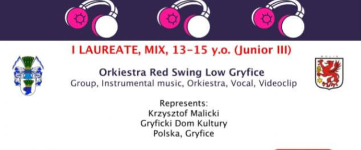 Gryfice. Red Swing Low laureatem I stopnia podczas zimowej edycji międzynarodowego festiwalu Culture Caravan.