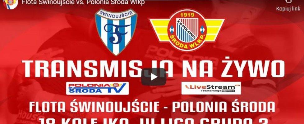 Świnoujście. Tu zobaczysz mecz Flota - Polonia na żywo.